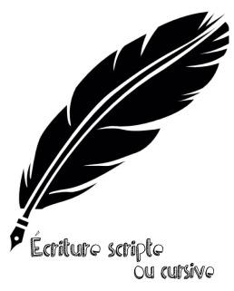 écriture scripte ou cursive2